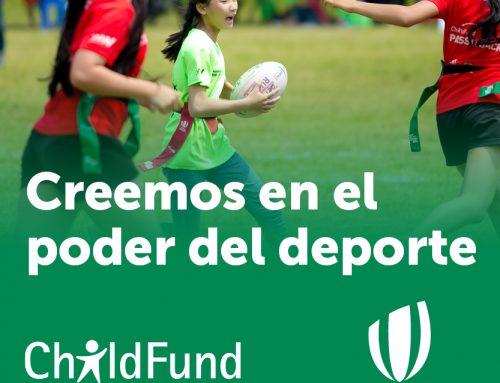 """World Rugby y ChildFund hacen un """"pase"""" para cambiar la vida de niños y niñas a través del deporte"""