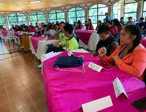 Adolescentes del Quiché se capacitan en Vocería por los derechos de la niñez y adolescencia