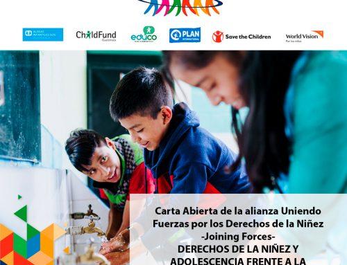 DERECHOS DE LA NIÑEZ Y ADOLESCENCIA FRENTE A LA EMERGENCIA NACIONAL POR COVID-19
