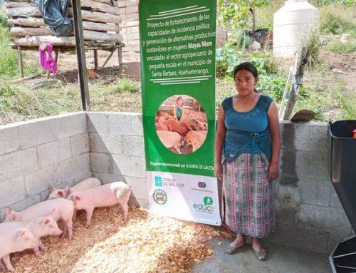 Mujeres Mam impulsan prácticas económicas con enfoque agropecuario