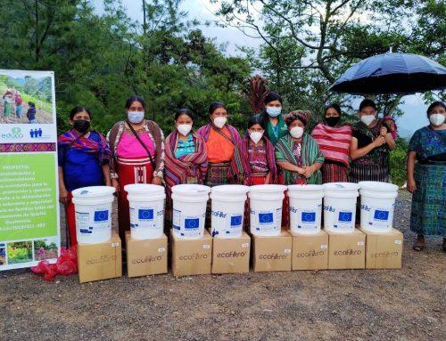 Contribuyendo para que las familias tengan agua segura en casa